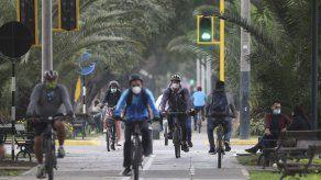 Limeños ven en la bicicleta una opción en medio de pandemia
