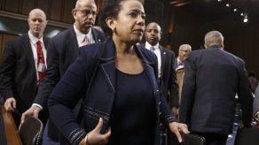 Lynch cerca de ser confirmada secretaria de Justicia de EEUU