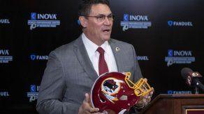 Ron Rivera espera ir cambiando cultura en Redskins