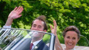 Pippa Middleton y James Matthews ponen rumbo a su luna de miel