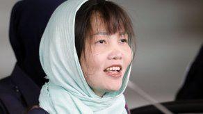 Retiran cargos a sospechosa en muerte de Kim Jong Nam