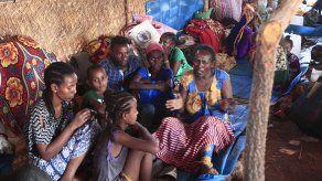 Los menores forman parte de las cerca de 5,5 millones de personas -un 61 % de la población de Tigray, Etiopía- que se enfrenta a altos niveles de inseguridad alimentaria aguda.