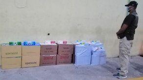 Decomisan más de 300 paquetes de cigarrillos de contrabando en Chiriquí