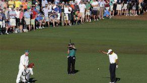 Tiger Woods es penalizado