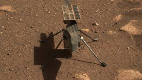 Helicóptero Ingenuity Mars.