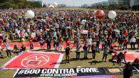 Bajo el lema Fuera Bolsonaro, los manifestantes también demandaron más vacunas contra la covid-19, después de que se conoció que el Gobierno de Brasil rechazó el año pasado en diversas ocasiones una primera remesa de vacunas del laboratorio Pfizer.