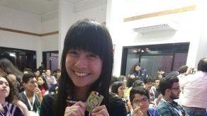 Estudiante panameña obtiene medalla de bronce en Olimpiadas de Astronomía