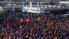 Huelga de industriales paraliza fábricas en Alemania