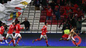 Agónico gol de Jonás sella triunfo 1-0 de Benfica ante Zenit