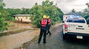 En Los Santos reportan familias afectadas por inundaciones