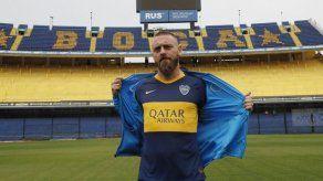 Daniele De Rossi firmó contrato con argentino Boca Juniors