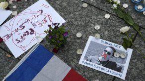 El fútbol profesional francés homenajeará al profesor decapitado