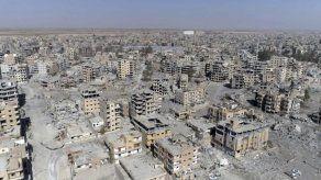 Un vídeo aéreo muestra la devastación en Raqqa