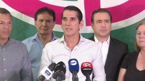 Rómulo Roux reconoce a Cortizo como presidente electo