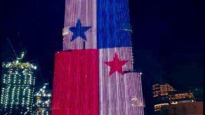 Gobierno afirma que Panamá no pagó por proyección de bandera sobre el Burj Khalifa