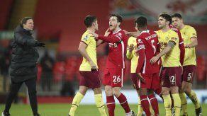 Liverpool cae ante Burnley