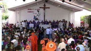Devotos de Jesús Nazareno de Atalaya le rinden honor con eucaristía y procesión