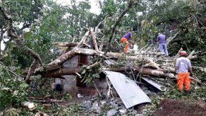 Mal tiempo deja sin luz a varios sectores de Panamá Oeste