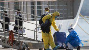Desembarcan tripulación de crucero infectada con Coronavirus