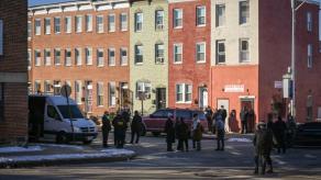Balean a alguacil federal en Baltimore; sospechoso muerto