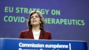 La comisaria europea de Sanidad, Stella Kyriakides.