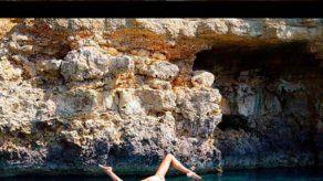 Vanesa Lorenzo lleva a los mares su pasión por el yoga