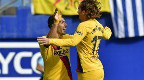 El tridente del Barcelona brilla en goleada 3-0 en Eibar