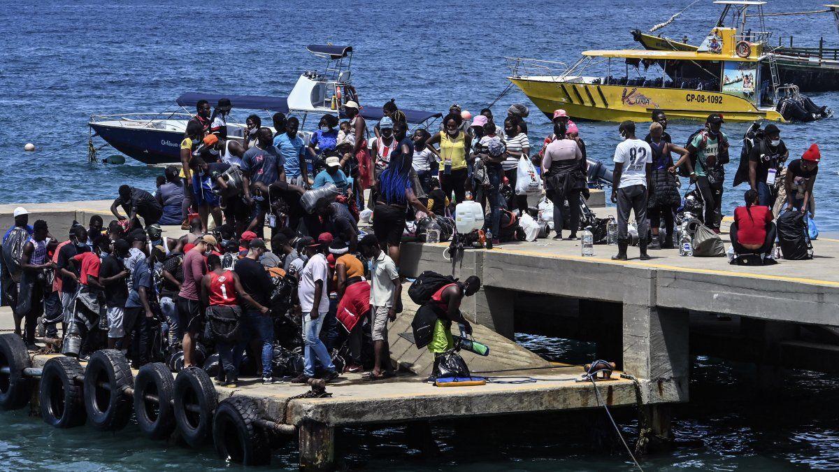 Migración Colombia, da cuenta de que más de 25.000 extranjeros, la mayoría haitianos, han entrado este año al país irregularmente, mientras que Panamá contabiliza más de 32.000 (el 80 % haitianos).