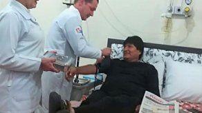 Evo Morales confirma que fue intervenido con éxito de un pequeño tumor