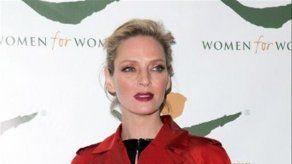 La actriz Uma Thurman espera su tercer hijo