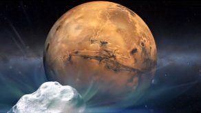 Cometa que rozó Marte cambió la química de su atmósfera