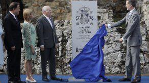 Rey Felipe VI visita Panamá Viejo