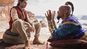 """""""Aladdin"""" ocupa el primer puesto en las taquillas en EEUU"""