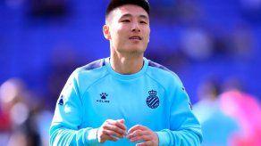 El jugador chino del Espanyol Wu Lei