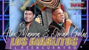 Reencuentro de Los Diablitos en Panamá el 14 de diciembre
