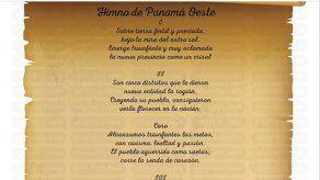 Provincia de Panamá Oeste ya cuenta con la letra de su himno