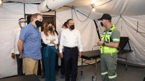 Panamá recibe cuatro hospitales móviles de parte de la Embajada de EEUU