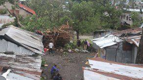 Un muerto y miles de casas destruidas por el ciclón Kenneth en Mozambique