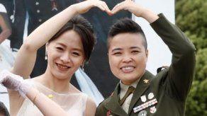 Primera boda homosexual en el Ejército de Taiwán