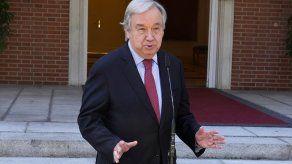 """Guterres recordó """"el llamado tradicional a silenciar las armas mientras se realizan los Juegos"""", y expresó esperanza en que esto pueda llevar al final de los conflictos."""
