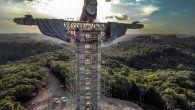 La estatua de Encantado llevará por nombre Cristo Protector y medirá 43 metros de altura, incluyendo su pedestal, lo que la convertirá en la tercera estatua de este tipo más alta del mundo.