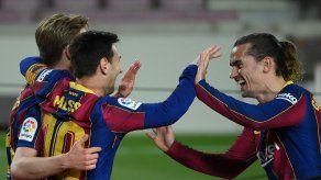 Barcelona goleó y el Atlético de Madrid regresa al liderato