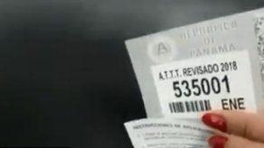 ATTT desmiente cambios en calcomanías del registro vehicular