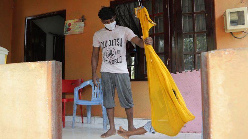 Lo acusan de 1.100 contagios de coronavirus en Sri Lanka