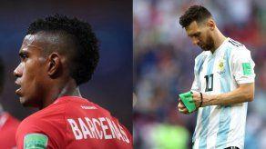 Messi y Bárcenas