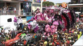 El primer día del Carnaval de Calle Abajo de Las Tablas