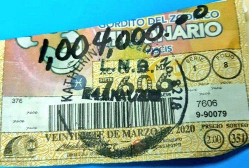 El escándalo respecto al pago del Gordito del Zodiaco surgió luego de que la LNB en un comunicado informó que la ganadora