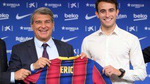 El Barcelona ficha al defensa Eric García hasta 2026