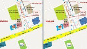 Habrá desvíos en vía Tocumen este jueves 29 y viernes 30 de noviembre