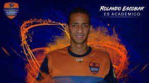 Rolando Escobar es nuevo jugador de la Academia Puerto Cabello